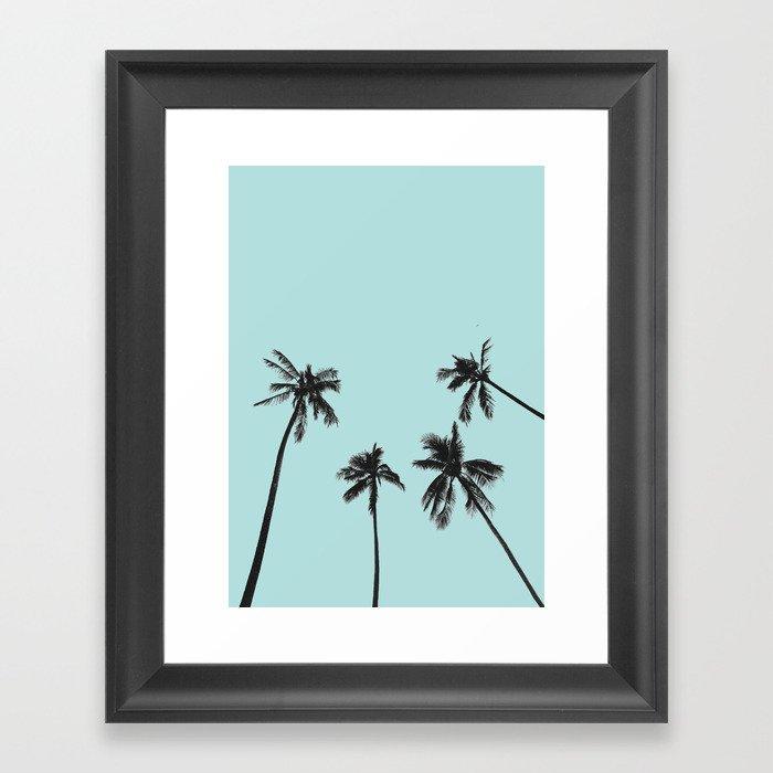 Palm trees 5 Gerahmter Kunstdruck