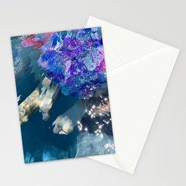 Unique underwater Art - No Edit - Abstract Water Distortion - Alternate crop Stationery Cards