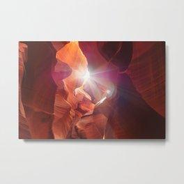 Light Entry Metal Print