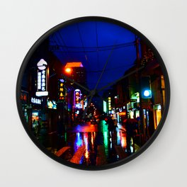 Shanghai 二 Wall Clock