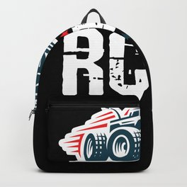 RC Time RC Car Model Build Backpack
