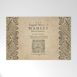 Shakespeare, Hamlet 1603 Welcome Mat
