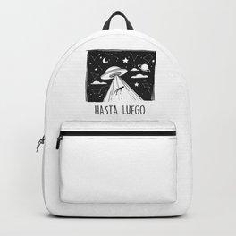 Hasta Luego. Alien abducion Backpack