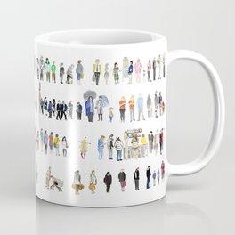 Major Queuing Coffee Mug
