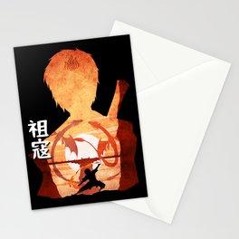 Minimalist Silhouette Zuko Stationery Cards