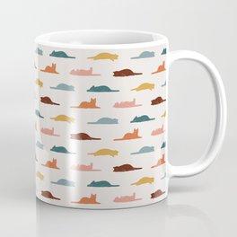 Lazy Cat Pattern Coffee Mug