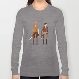 Brains and Brawn Long Sleeve T-shirt