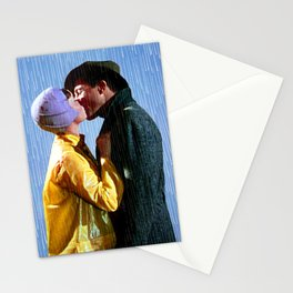 Singin' in the Rain - Blue Stationery Cards