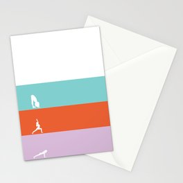 Yoga Flow Stationery Cards