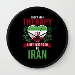 No Therapy just Iran Wall Clock