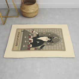 Four of Cups Rug