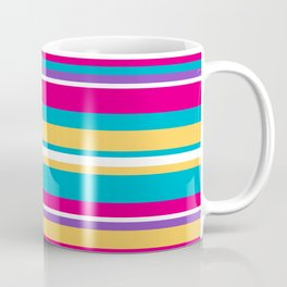 Epcot Color Stripes Coffee Mug