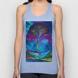 Tree of Life Meditation Unisex Tank Top