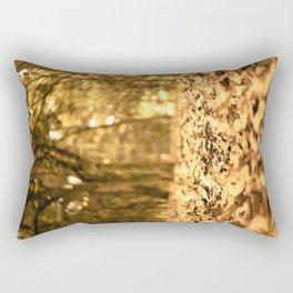 Gold Atumn Rectangular Pillow
