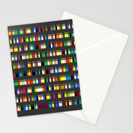 Color by Number: Pi Stationery Cards