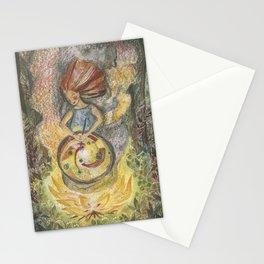 Culinary magic Stationery Cards