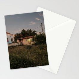 Alive at night - Willemstad Otrabanda Curacao photo | Night time urban urbanscape dark street photography art print Stationery Cards