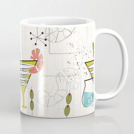 Mid Century Modern Cocktail Hour Coffee Mug