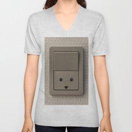 Smiling Power Outlet Unisex V-Neck