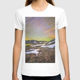 Loveland pass star trails T-shirt