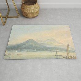 """J.M.W. Turner """"From the Isola Borromena, Lago Maggiore"""" Rug"""