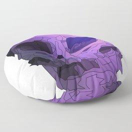 Skull - Violet Floor Pillow