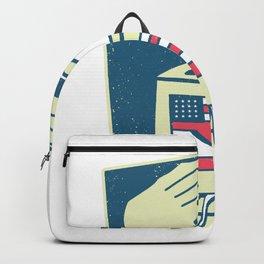 USA elections ballot box Backpack