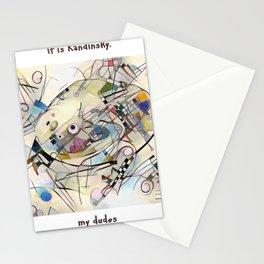 It's Kandinsky, My Dudes Stationery Cards