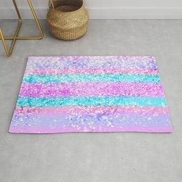 Unicorn Girls Glitter #15 #shiny #decor #art #society6 Rug