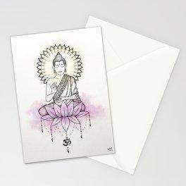 Lotus Buddha Stationery Cards