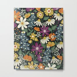 Wildflower Meadow Metal Print