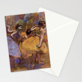 Dancers 4 By Edgar Degas | Reproduction | Famous French Painter Stationery Cards