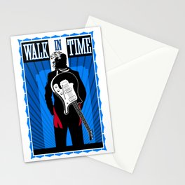 Walk in Time Stationery Cards