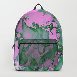 Green and Pink Delight Backpack