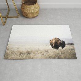 Bison stance Rug