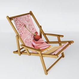 Pink Cupcake Paisley Bandana Sling Chair