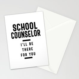 School Counselor Work Job Title Gift Stationery Cards