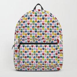 Diamond Hearts Color Backpack