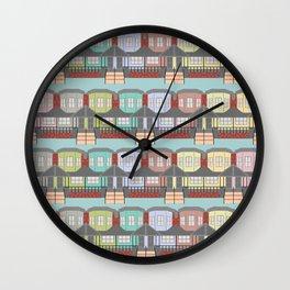 Row house / Row home Wall Clock
