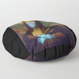 2020 Mona Lisa Floor Pillow