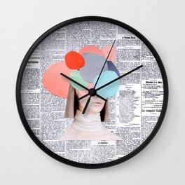 le figaro Wall Clock