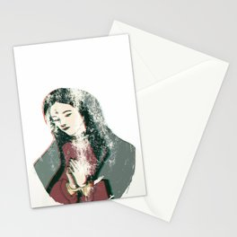 Punk Mary Stationery Cards