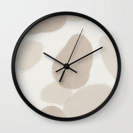 River Stones Wall Clock