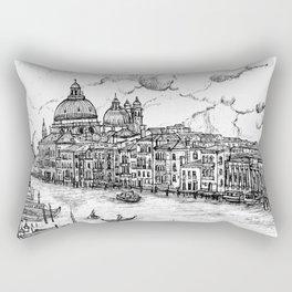 Venice ink  Rectangular Pillow