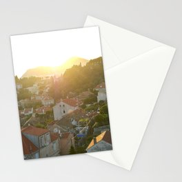 Rooftop Sunset Stationery Cards
