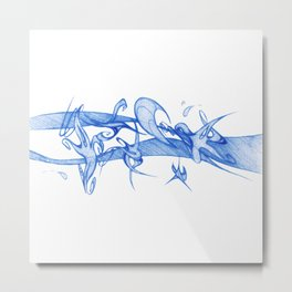 MY BLUE SKY Metal Print