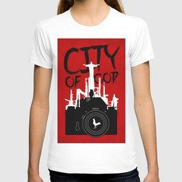 City of God - Minimal Movie Fanart Alternative T-shirt