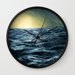 Sea Rise Wall Clock