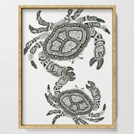 Dancing Crabs Serving Tray