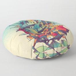Moving Castle Floor Pillow